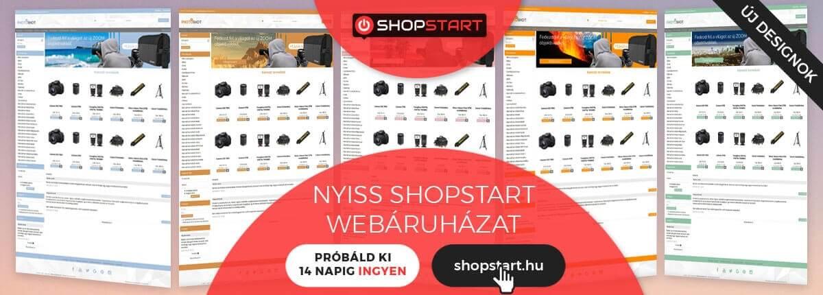 07f80741bc Rengeteg designból tudsz választani shopstart webáruházadhoz, amit bármikor  másikra le is tudsz cserélni, vagy kedvedre átszínezni!