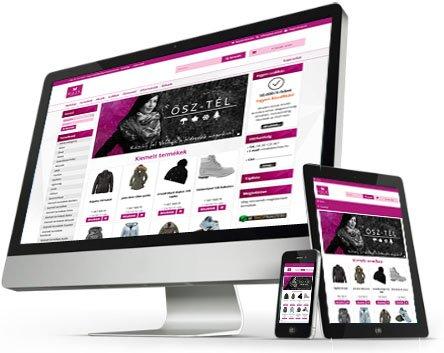 3a03c5d7c2 Mobilbarát, responsive webáruház készítés és bérlés