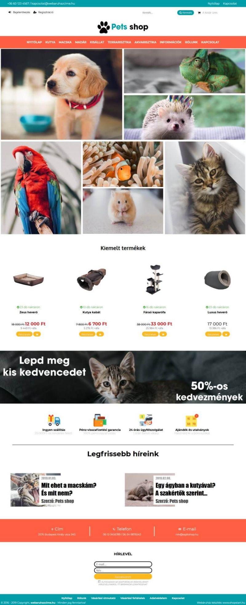 5bf19004ac Webdesign Extra Plus minta shop