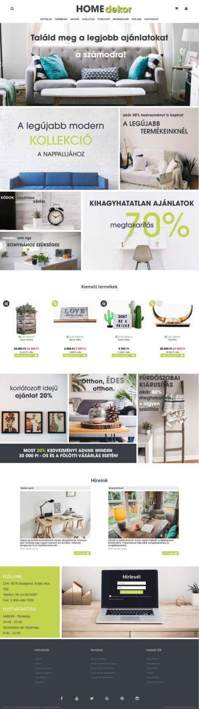 b492d9410d1b Webdesign egyediesítés és logókészítés webáruházhoz